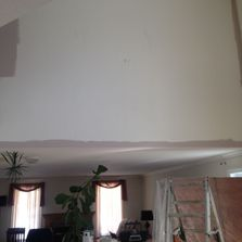 view of false ceiling after painting